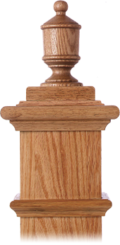 LJ-9009 — Lighthouse Finial for Box Newels