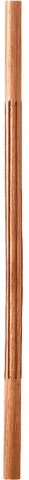"LJF-5070 — Solid Fluted Baluster - 1-1/4"" Round"
