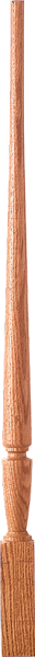 "LJP-2015 - Sheraton Pin Top Baluster - 1-3/4"" Square"