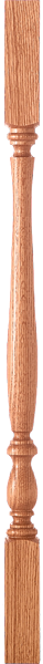 "LJP-2905 - Bristol Block Top Baluster - 1-3/4"" Square"