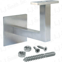 LJ-3128 — Contemporary Wall Rail Bracket