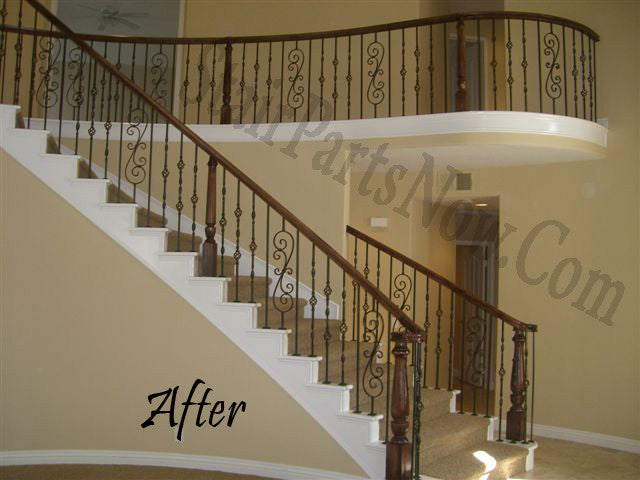 Wood And Iron Stair Parts Online | StairPartsNow.com