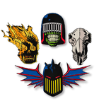 2000 AD Dark Judges Pin Pack