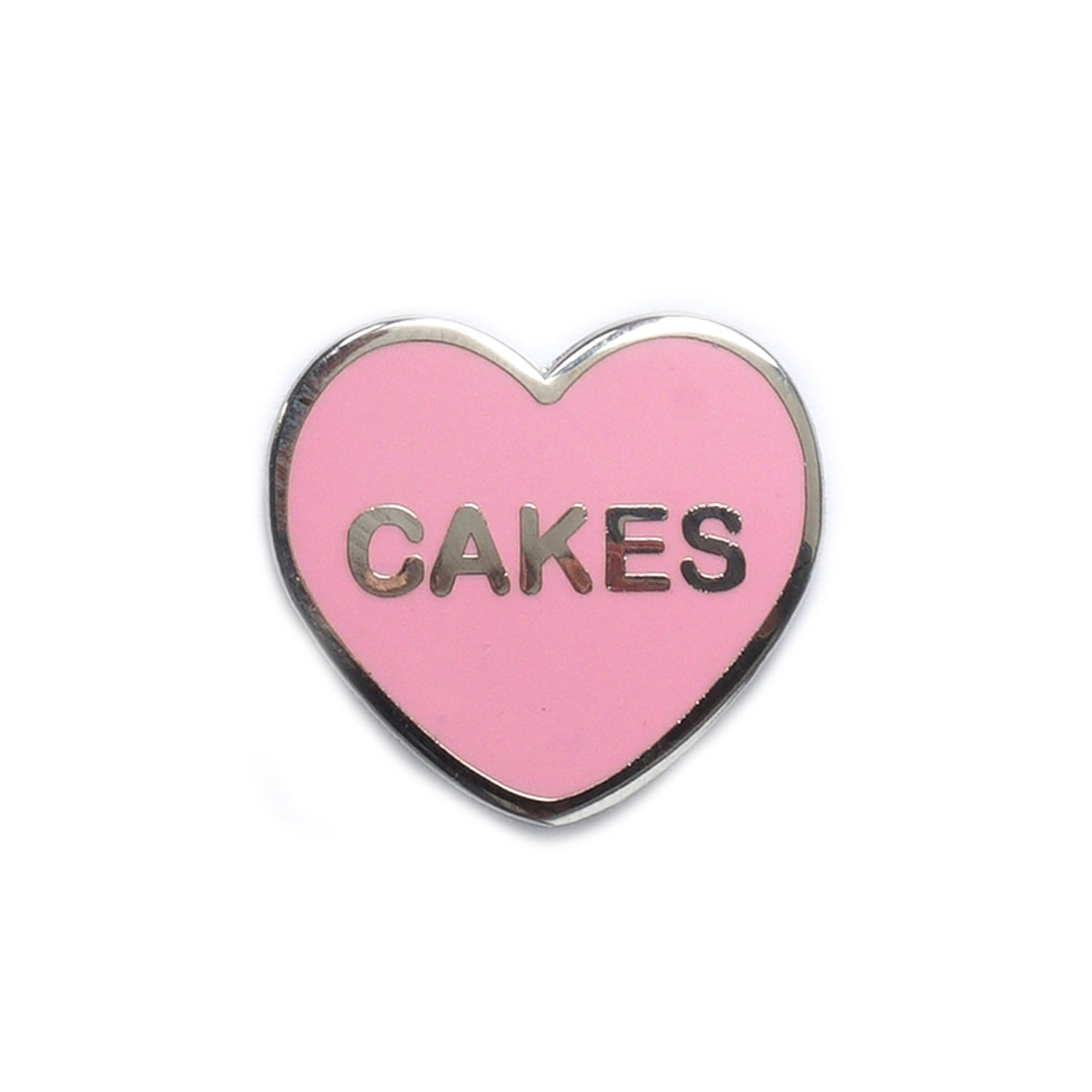 Cakes Candy Heart Pin