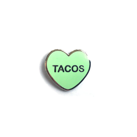 Tacos Candy Heart