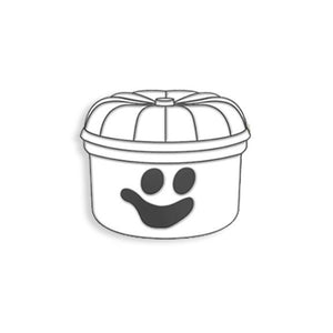 Halloween Lunchbox Ghost (Glows in the Dark)