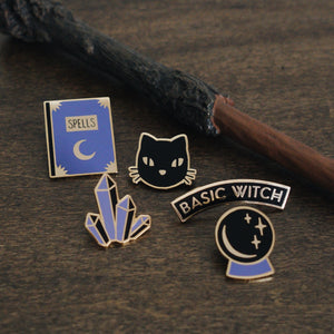Basic Witches Pin Pack (5 Pin Set)