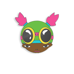 Lil Mama pin by Hebru Brantley