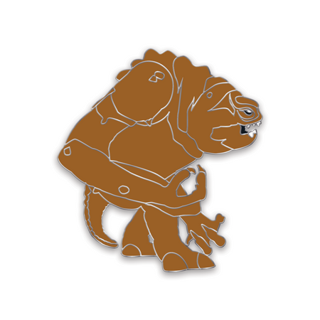 Pit Monster Enamel Pin