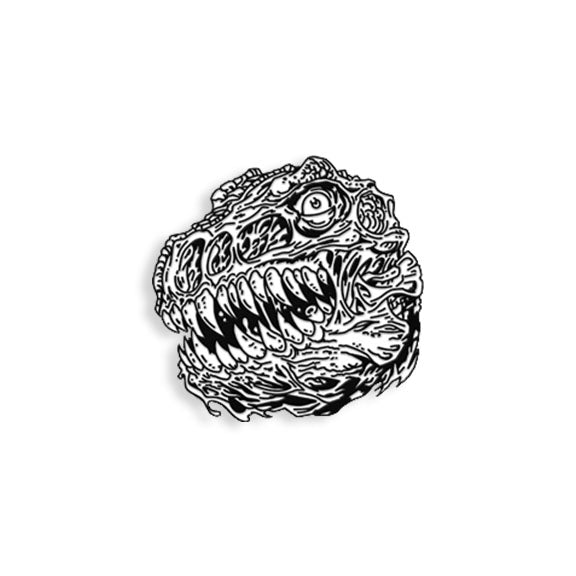 Rotten Rex pin by James Groman