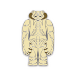 Snow Monster  Enamel Pin
