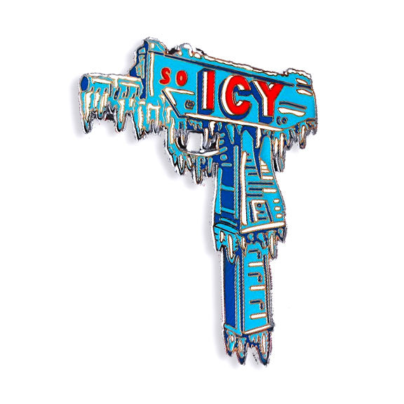 So Icy pin designed by Scott Hove