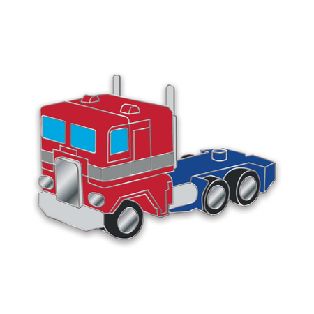 Toy Truck Enamel Pin