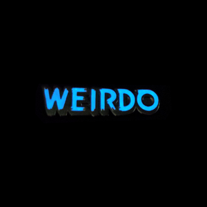 Weirdo Lettering (Glows In The Dark)