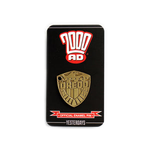 2000 AD Judge Dredd Badge
