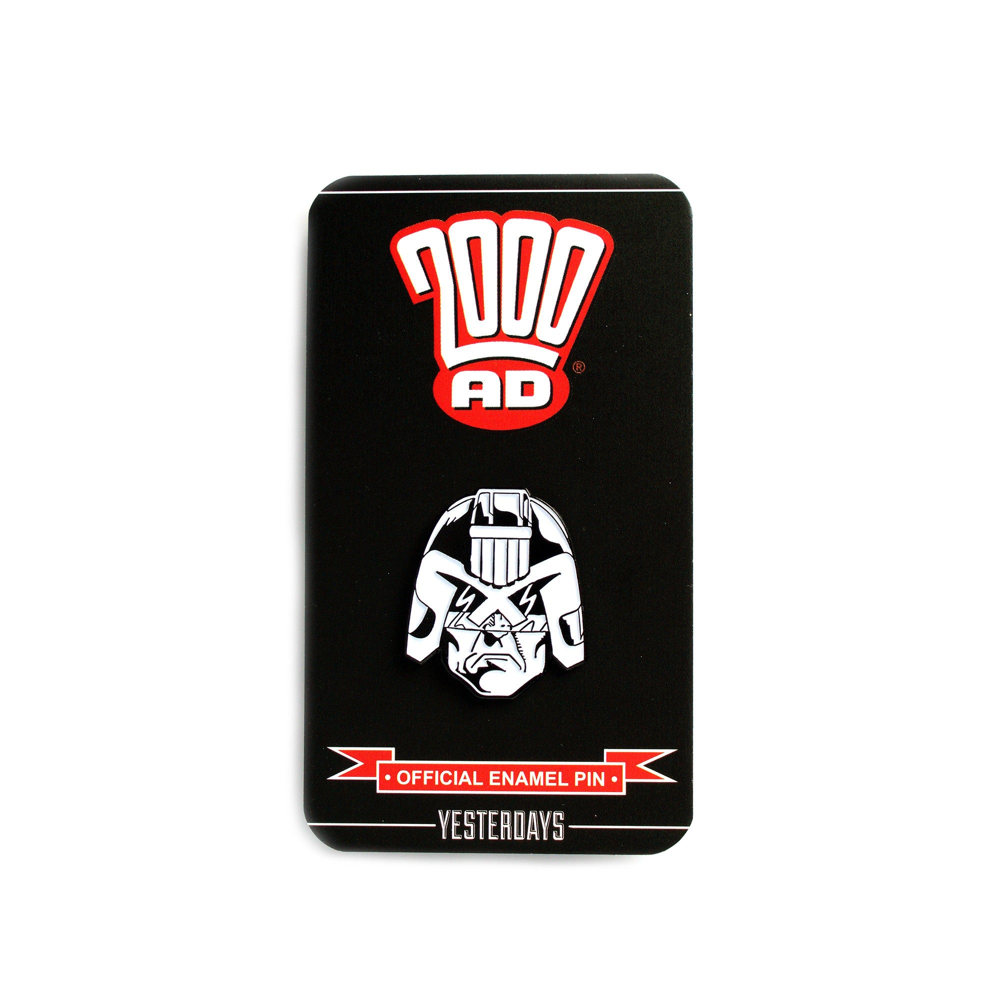 2000 AD Judge Dredd Pin (Inked Edition)