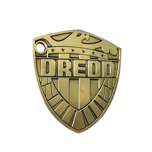 2000 AD 1/2 Scale Judge Dredd Badge