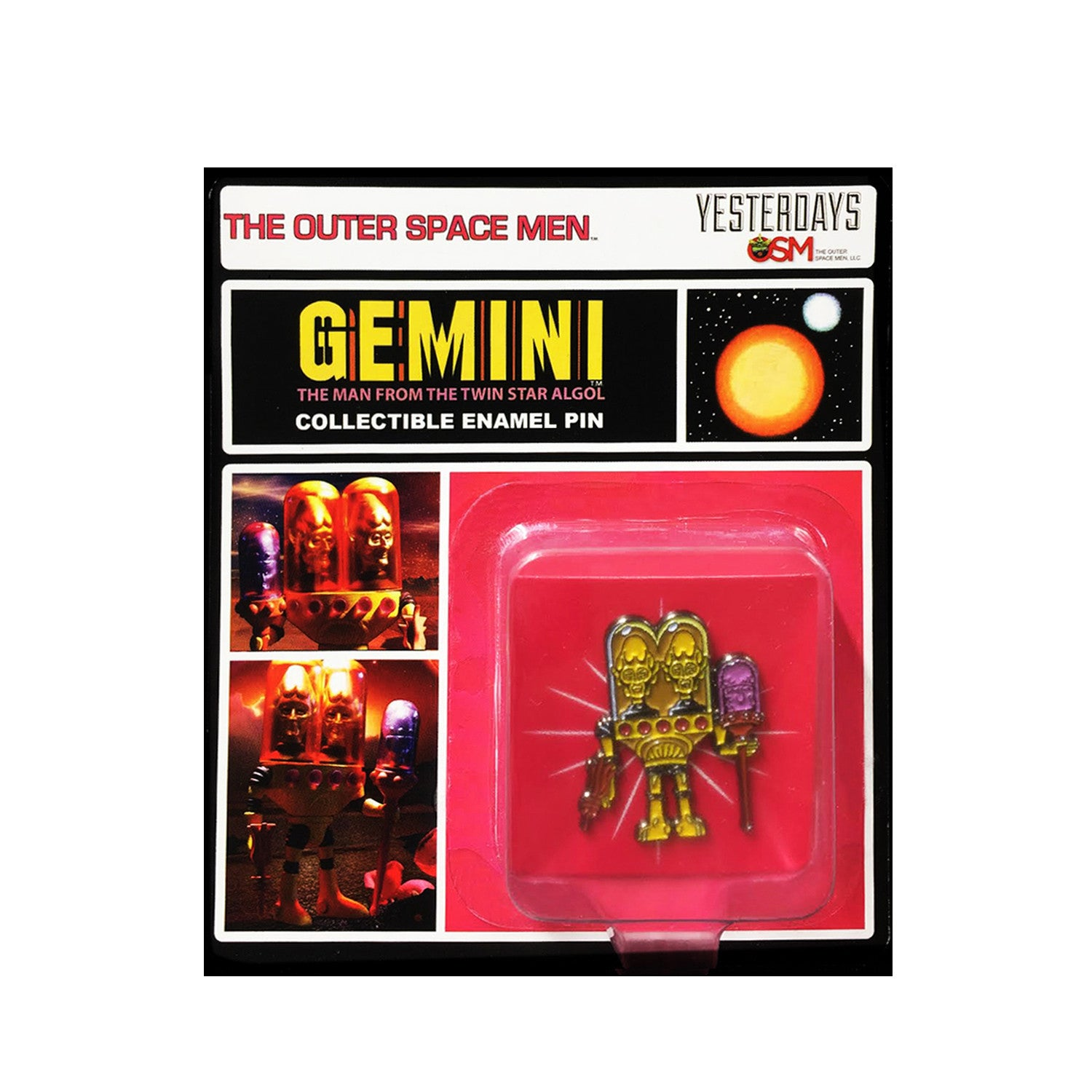 The Outer Space Men Gemini: The Man From the Twin Star Algol