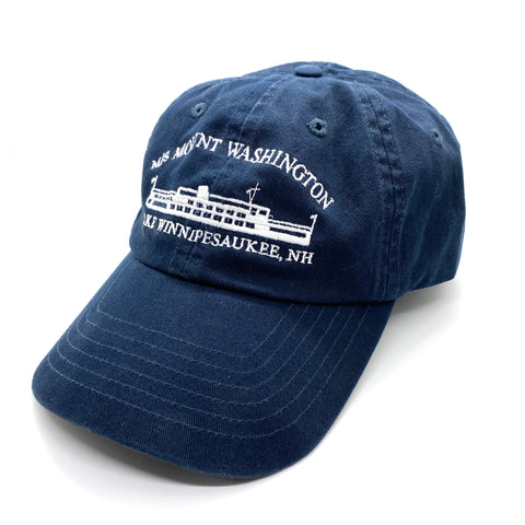 M/S Mount Washington Adult Logo Cap
