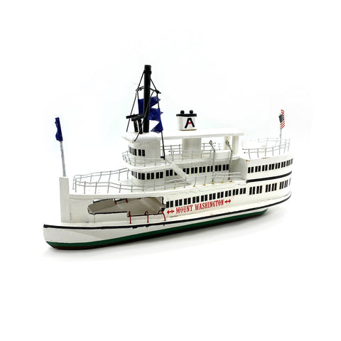 M/S Mount Washington Wooden Model