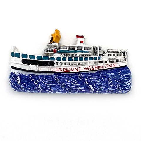 M/S Mount Washington 3D Resin Magnet