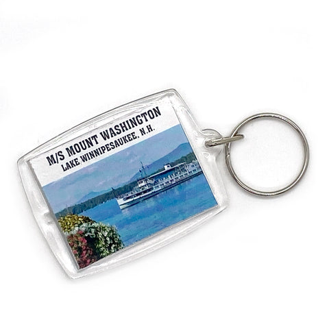 M/S Mount Washington Acrylic Keychain