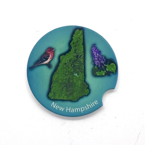 New Hampshire Car Coaster