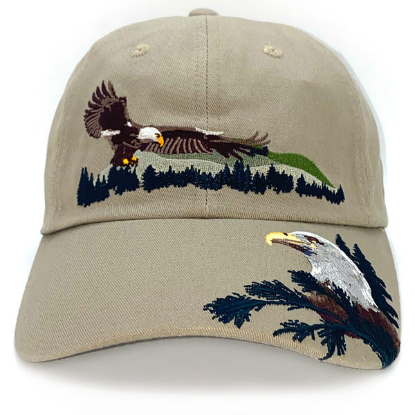Bald Eagle Adult Embroidered Cap