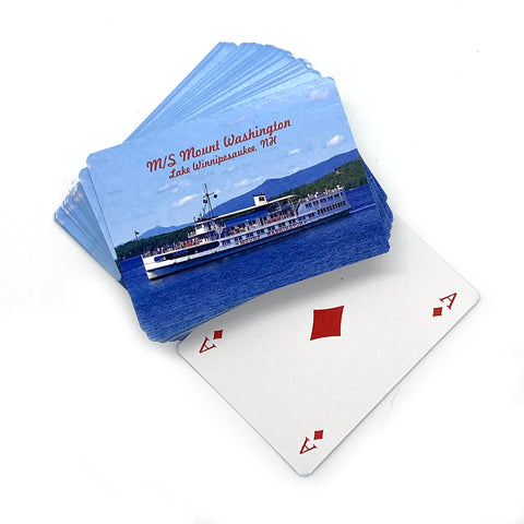 M/S Mount Washington Eco Playing Cards
