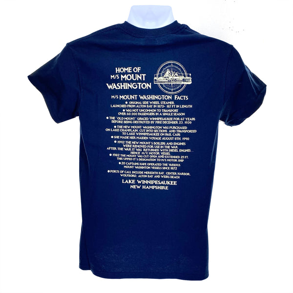 M/S Mount Washington History Tee