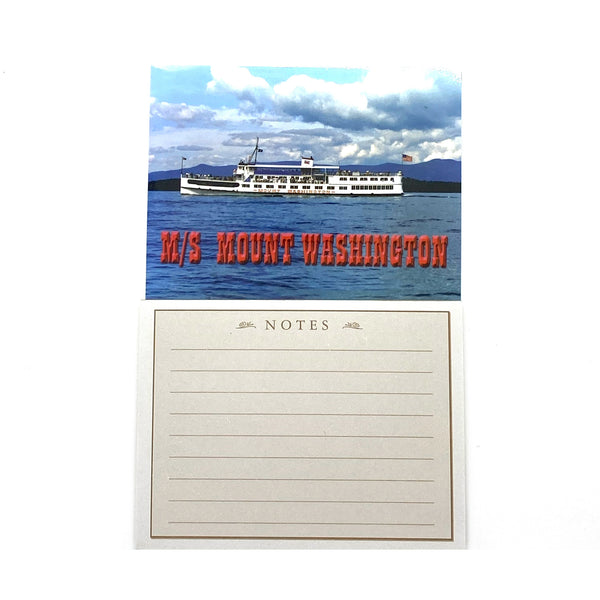 M/S Mount Washington Magnetic Notepad