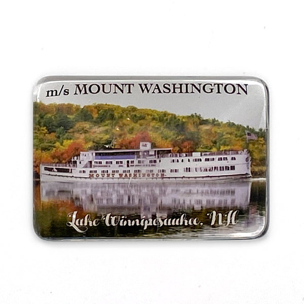 M/S Mount Washington Dome Magnet