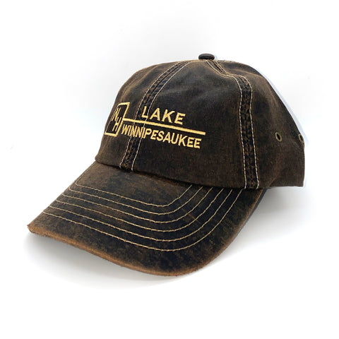 New Hampshire Distressed Cap