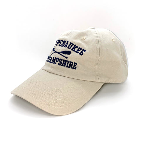 Winnipesaukee Crossed Oars Cap