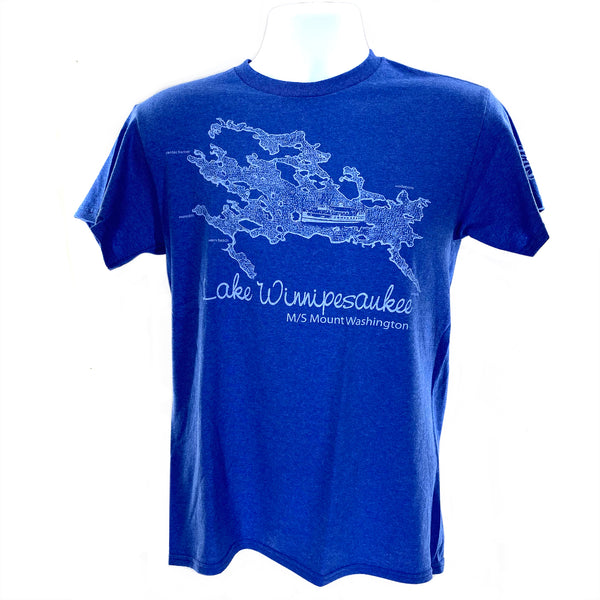 Winnipesaukee Map Tee