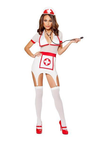 3PC DOCTORS NAUGHTY ASSISTANT Costume - Rave Rebel