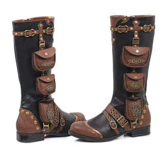 1 Inch Womens Steam Punk Boot - Rave Rebel