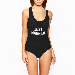 Just Married Swimsuit - Rave Rebel
