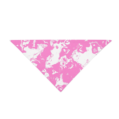 Pink Paint Splatter Bandana - Rave Rebel