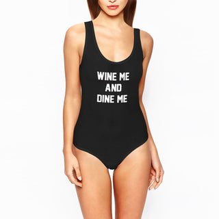 WINE ME AND DINE ME Swimsuit - Rave Rebel