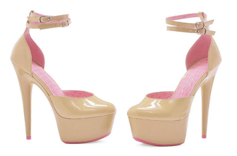 "6"" Platform Breast Cancer Awareness Shoe - Rave Rebel"