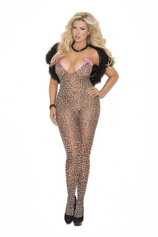BODYSTOCKING W/ SATIN BOWS