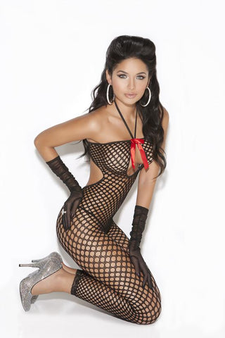 CROCHET BODYSTOCKING - Rave Rebel