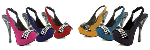"5"" Heel Close Toe Pump - Rave Rebel"
