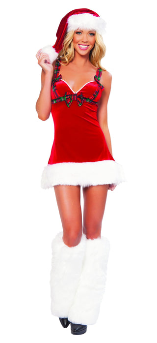 Santa's Flirt Costume - Rave Rebel
