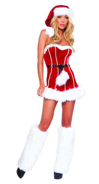 Naughty Santa Costume - Rave Rebel