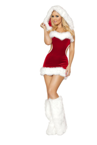 Sexy Claus Costume - Rave Rebel