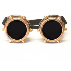 Copper Bolt Goggles - Rave Rebel