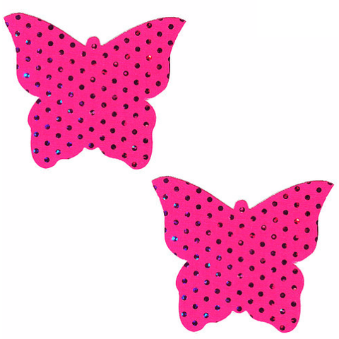 Cosmopolitan Pink Butterfly Pasties - Rave Rebel