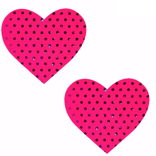 Cosmopolitan Pink Heart Pasties - Rave Rebel